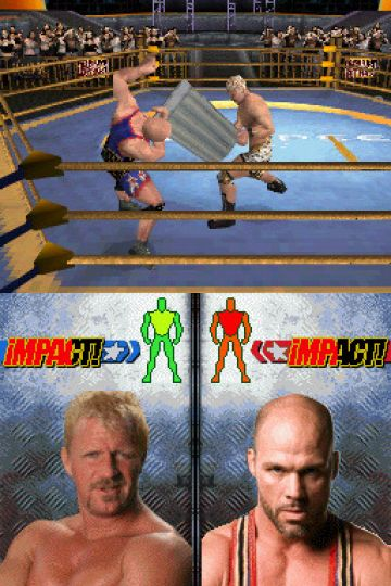 Immagine -5 del gioco TNA iMPACT!: Cross the Line per Nintendo DS