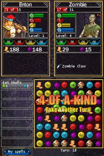 Immagine 0 del gioco Puzzle Quest: Challenge of the Warlords per Nintendo DS
