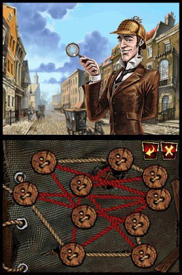 Immagine -3 del gioco Sherlock Holmes e il Segreto della Regina per Nintendo DS