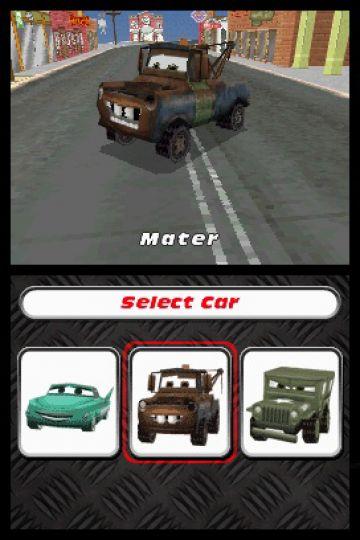 Immagine -3 del gioco Cars: La Coppa Internazionale di Carl Attrezzi per Nintendo DS