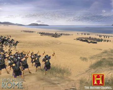 Immagine -14 del gioco The History Channel: Great Battles of Rome per PlayStation 2