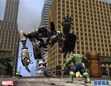 Immagine -2 del gioco L'Incredibile Hulk per Playstation 2