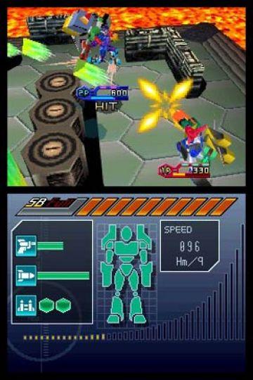 Immagine -3 del gioco Custom Robo Arena per Nintendo DS