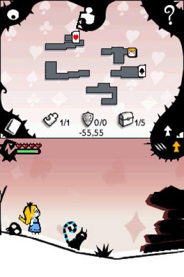 Immagine -9 del gioco Alice In Wonderland per Nintendo DS