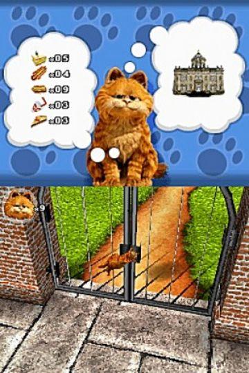 Immagine -9 del gioco Garfield 2 per Nintendo DS