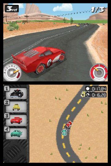 Immagine -4 del gioco Cars: La Coppa Internazionale di Carl Attrezzi per Nintendo DS
