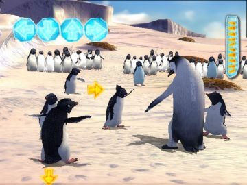 Immagine -2 del gioco Happy Feet per PlayStation 2