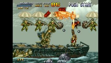 Immagine -14 del gioco Metal Slug Anthology per PlayStation PSP