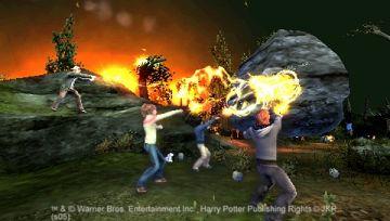 Immagine -5 del gioco Harry Potter e il calice di fuoco per PlayStation PSP