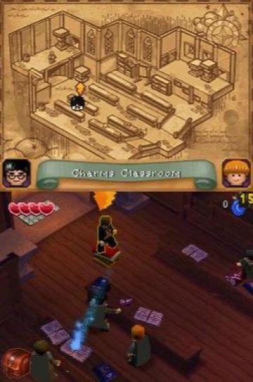 Immagine -14 del gioco LEGO Harry Potter: Anni 1-4 per Nintendo DS