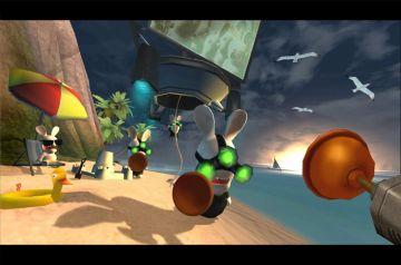 Immagine -5 del gioco Rayman: Raving Rabbids per Xbox 360