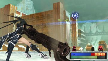 Immagine 0 del gioco Black Rock Shooter: The Game per PlayStation PSP