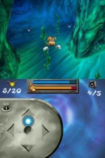 Immagine -2 del gioco Rayman DS per Nintendo DS