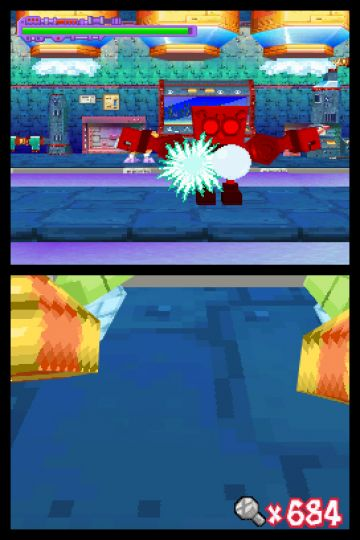 Immagine -2 del gioco Nicktoons - Attack of the Toybots per Nintendo DS