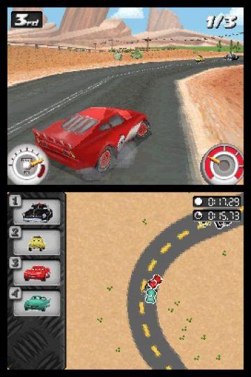 Immagine -5 del gioco Cars: La Coppa Internazionale di Carl Attrezzi per Nintendo DS