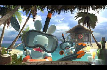 Immagine -2 del gioco Rayman: Raving Rabbids per Xbox 360