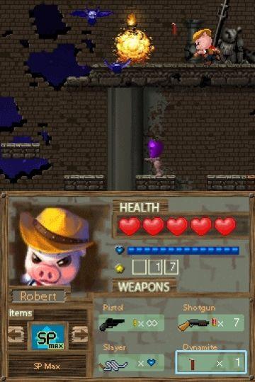 Immagine -17 del gioco Barnyard Blast - il porcello delle tenebre per Nintendo DS