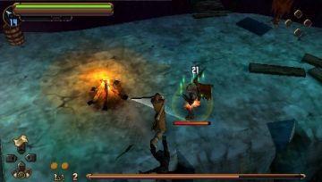 Immagine -4 del gioco Il Signore degli Anelli: L'Avventura di Aragorn per Playstation PSP