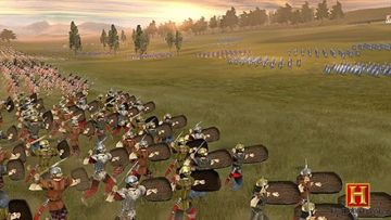Immagine -2 del gioco The History Channel: Great Battles of Rome per PlayStation PSP