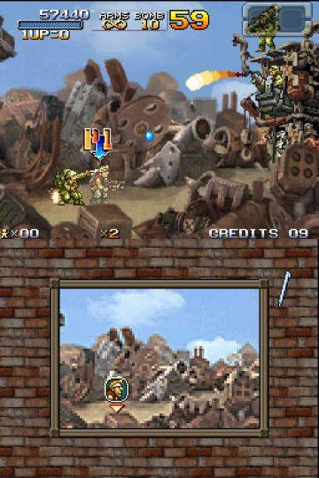 Immagine -3 del gioco Metal Slug 7 per Nintendo DS