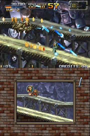 Immagine -2 del gioco Metal Slug 7 per Nintendo DS