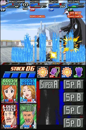 Immagine -3 del gioco Bleach: Dark Souls per Nintendo DS