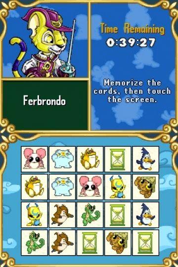 Immagine -2 del gioco Neopets: Puzzle Adventure per Nintendo DS