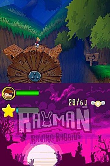Immagine -1 del gioco Rayman Raving Rabbids per Nintendo DS