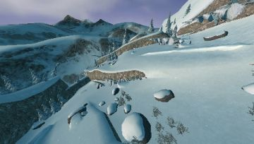 Immagine -3 del gioco Freak Out: Extreme Freeride per PlayStation PSP