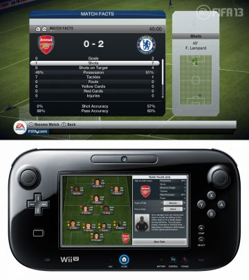 Immagine -9 del gioco FIFA 13 per Nintendo Wii U