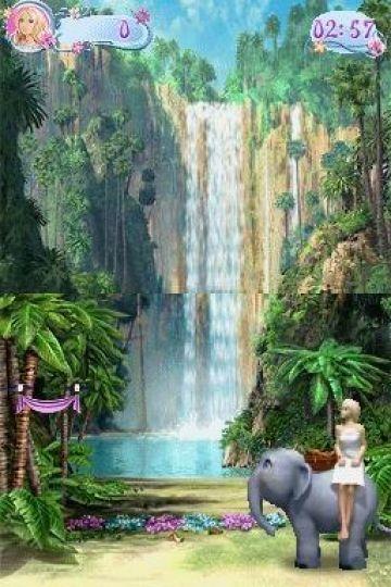 Immagine -5 del gioco Barbie Island Princess per Nintendo DS