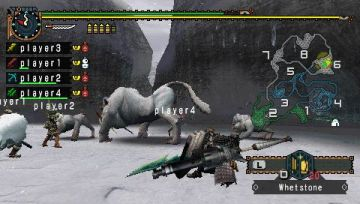 Immagine -4 del gioco Monster Hunter Freedom 2 per PlayStation PSP