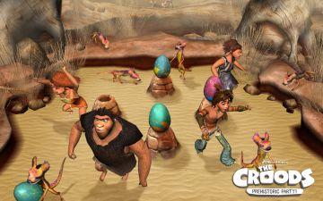 Immagine -4 del gioco I Croods: Festa Preistorica per Nintendo Wii