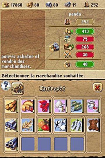 Immagine -2 del gioco Anno 1701 - Agli Albori delle Scoperte per Nintendo DS