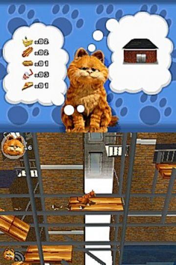 Immagine -15 del gioco Garfield 2 per Nintendo DS