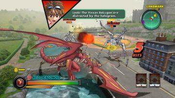 Immagine -2 del gioco Bakugan Battle Brawlers: I Difensori della Terra per Nintendo Wii