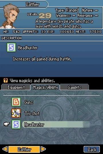 Immagine 0 del gioco Final Fantasy XII Revenant Wings per Nintendo DS