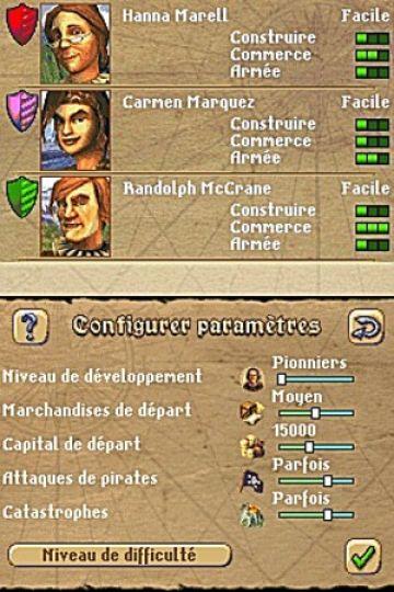 Immagine -4 del gioco Anno 1701 - Agli Albori delle Scoperte per Nintendo DS