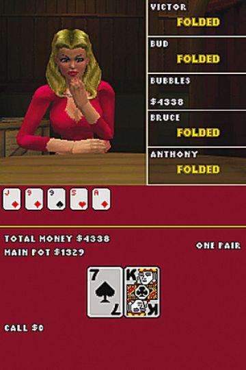 Immagine -16 del gioco World Championship Poker: Deluxe Series per Nintendo DS
