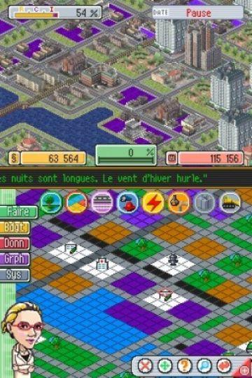 Immagine -1 del gioco SimCity DS per Nintendo DS