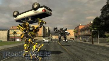 Immagine -14 del gioco Transformers: The Game per Nintendo Wii