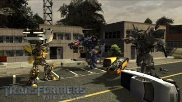 Immagine -4 del gioco Transformers: The Game per PlayStation 2