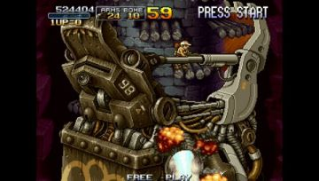 Immagine -10 del gioco Metal Slug Anthology per PlayStation PSP