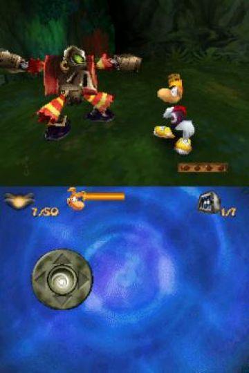 Immagine -4 del gioco Rayman DS per Nintendo DS