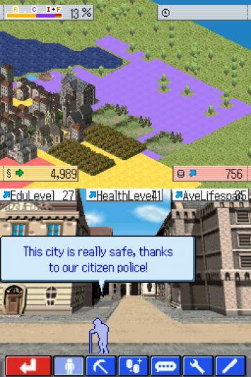 Immagine -1 del gioco Sim City Creator per Nintendo DS