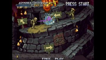 Immagine -11 del gioco Metal Slug Anthology per PlayStation PSP