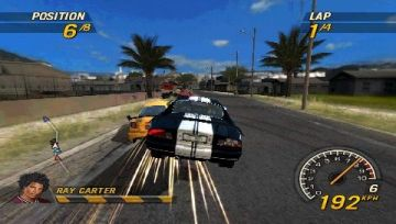 Immagine -4 del gioco Flat Out: Head On per PlayStation PSP