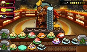 Immagine -1 del gioco Sushi Striker: The Way of Sushido per Nintendo 3DS