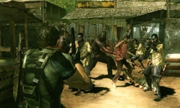Immagine -5 del gioco Resident Evil: The Mercenaries 3D per Nintendo 3DS