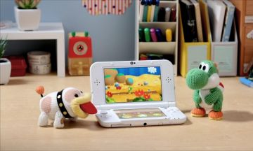 Immagine -5 del gioco Poochy & Yoshi's Whooly World per Nintendo 3DS